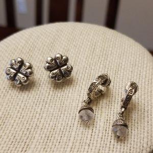 Two Pair Brighton Earrings